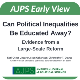 Can Political Inequalities Be Educated Away? Evidence from a Large-Scale Reform
