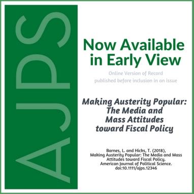 AJPS-AuthorSummary-MakingAusterityPopular