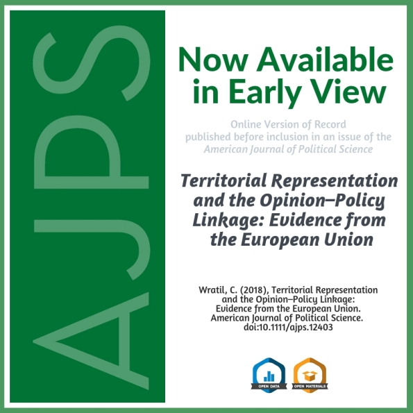 Territorial Representation and the Opinion-Policy Linkage
